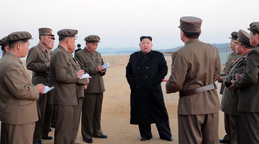 Kuzey Kore lideri, 'yeni ultra modern' silah denemelerini denetledi