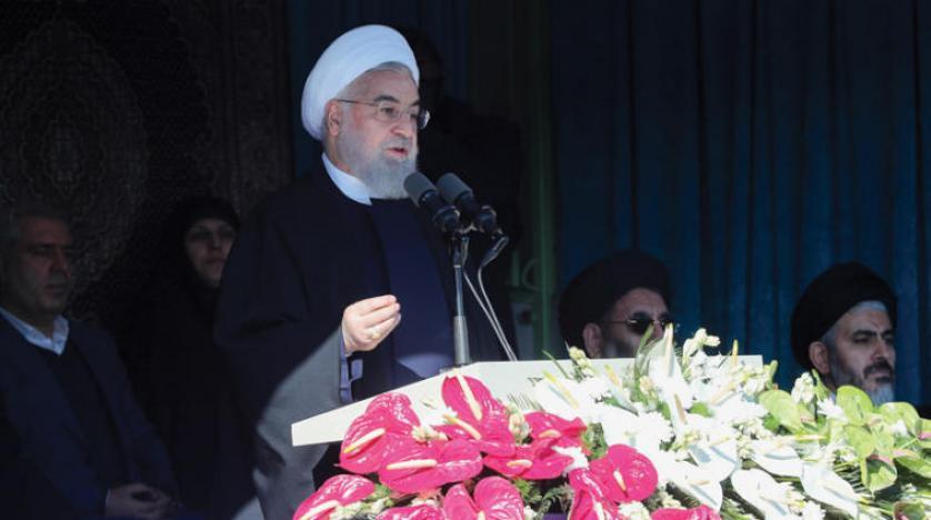 Ruhani'den yaptırımlara cevap: Petrol ihraç etmeye devam edeceğiz