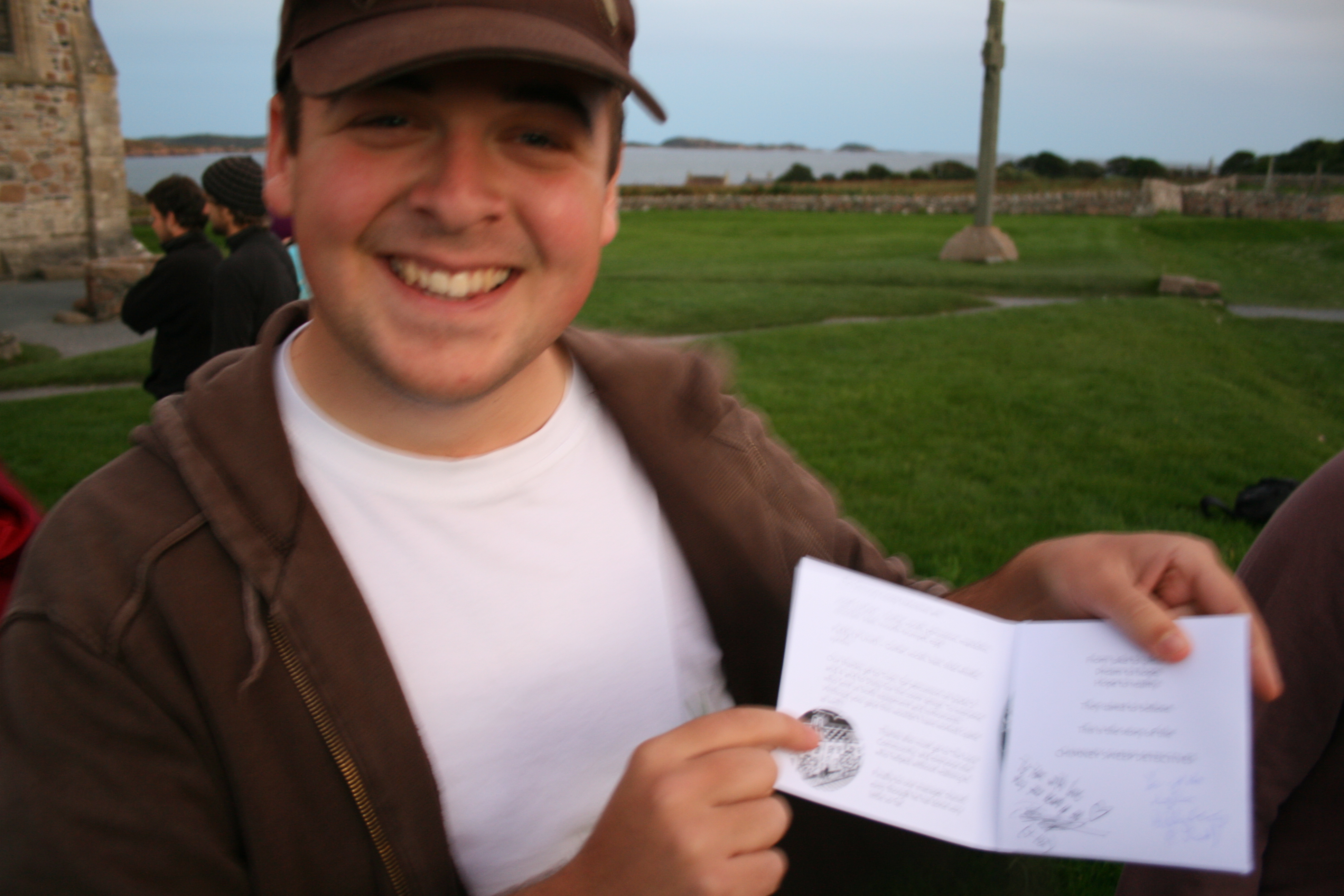Longtime fan Tom just had his album signed by the Chimney Sweep Detectives
