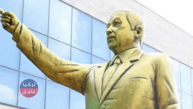تمثال ذهبي لأردوغان في ألمانيا!