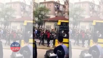 شاب سوري يقوم بعمل جنوني في بورصا ... فيديو ينتشر بكثرة بين الأتراك