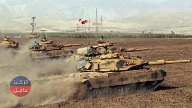 الجيش التركي يدفع بتعزيزات عسكرية باتجاه الحدود السورية