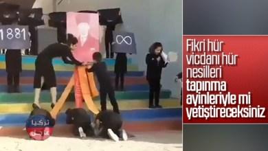 Photo of معلمة تجبر طلابها على السجود لصورة أتاتورك بذكرى وفاته والسلطات تتدخل (فيديو)
