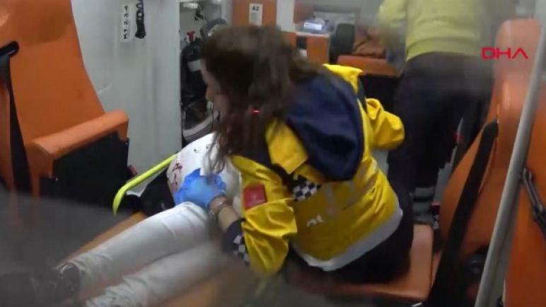 طعن امرأة سورية في اسنيورت التابعة لاسطنبول في تركيا