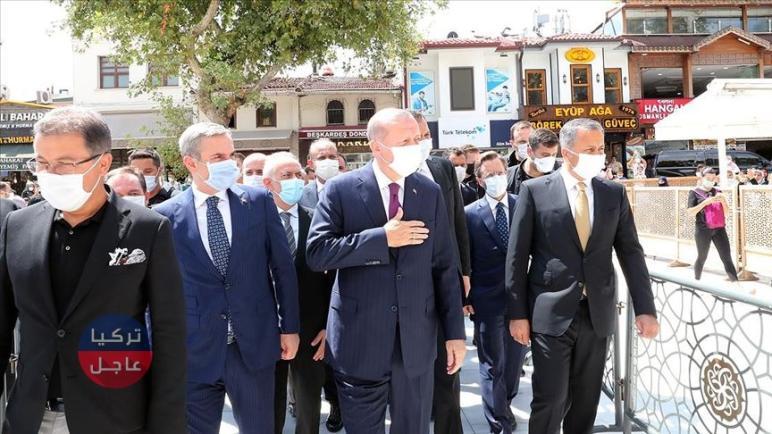أردوغان يظهر في إسطنبول قبل دقائق من كشفه للمفاجئة الكبرى