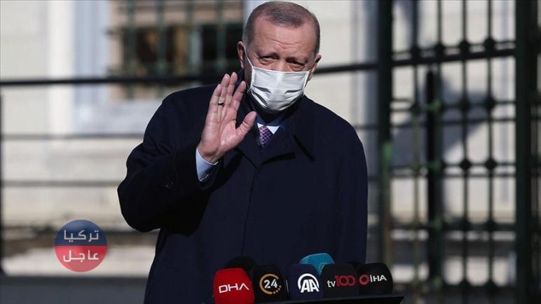 أردوغان يوجه رسالة هامة تخص مشروع قناة إسطنبول