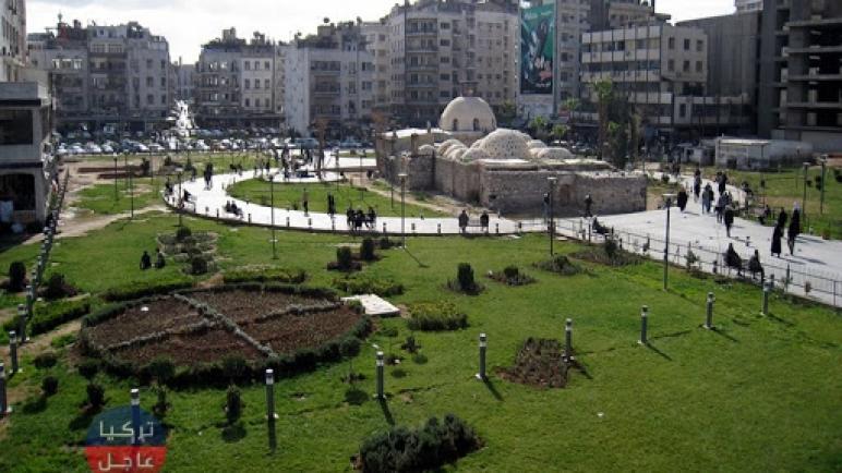 في حديقة القرماني بدمشق امرأة سورية باعت ولديها بأقل من 100 دولار
