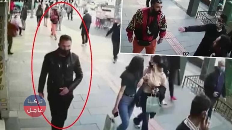 شاهد بالفيديو لحظة تحرش بامراة تركية وزوجها جانبها وهذا ما حدث بعدها