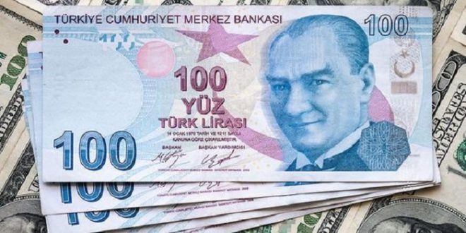 100 دولار كم ليرة تركية تساوي