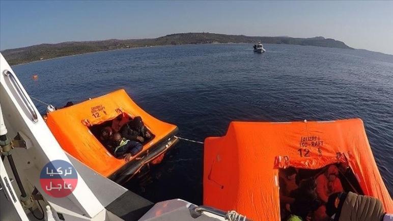 """تركيا تنقذ 65 مهاجرا أعادتهم اليونان قبالة سواحل ولايتي """"جناق قلعة"""" و""""موغلا"""""""