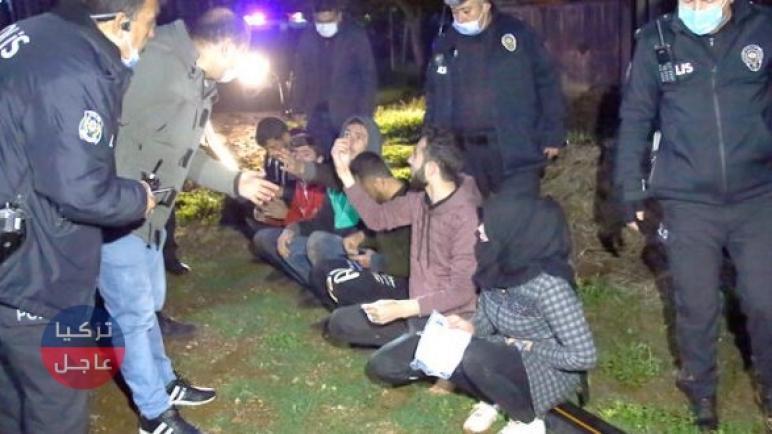 تركيا.. مطاردة لمجموعة من السوريين تنتهي بحقل للبطاطا .. فيديو