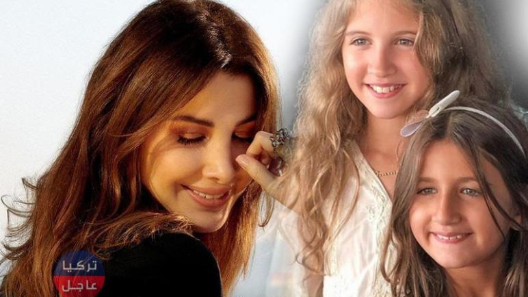 نانسي عجرم لأول تُدخل بناتها ميلا و ايلا في فيديو كليب