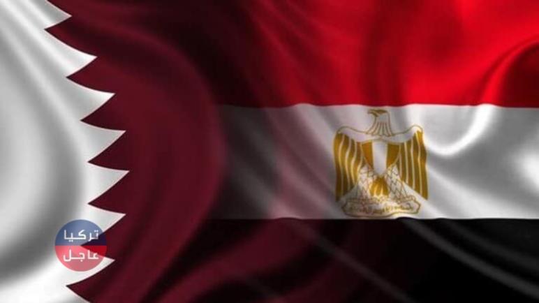 أول لقاء منذ 4 سنوات بين وزيري خارجية مصر وقطر (صورة)