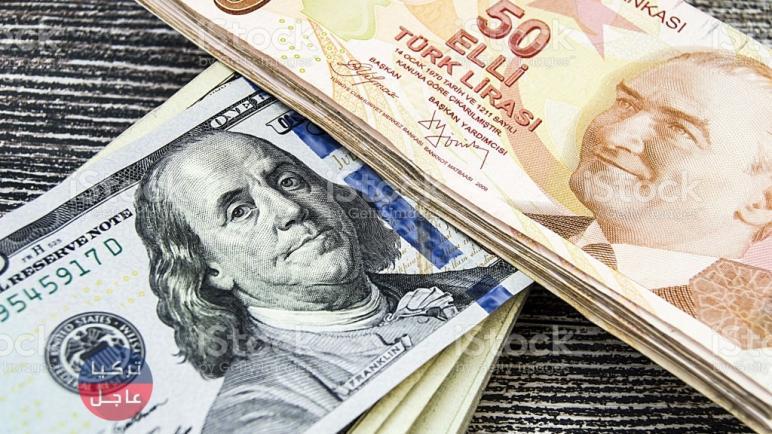 انخفاض الليرة التركية مقابل الدولار واليورو وبقية العملات اليوم الجمعة 26-03-2021
