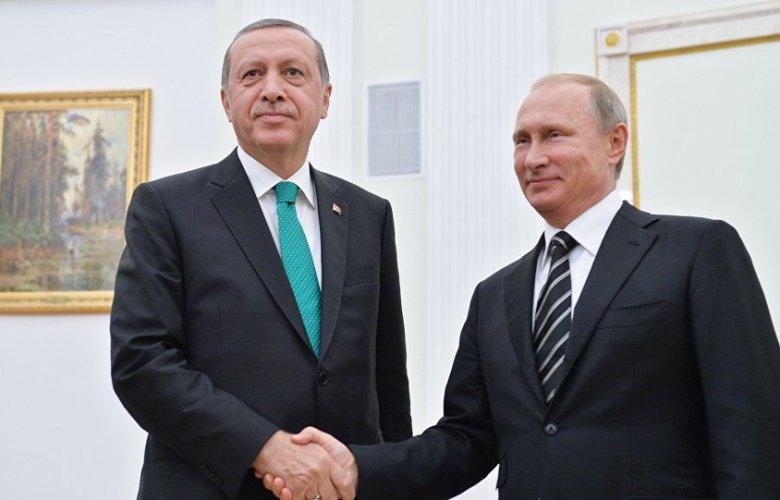 Erdogan, Putin, Sochi, meeting, Syrian conflict