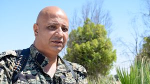 Talal Silo, Syrian Defense Forces, spokesman, defection, FSA