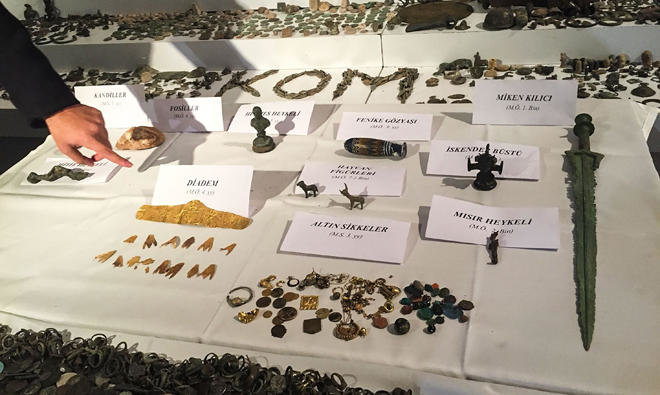 historical artifacts, Turkey, smuggling