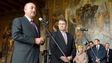 Mevlut Cavusoglu, Sigmar Gabriel, Germany, Turkey