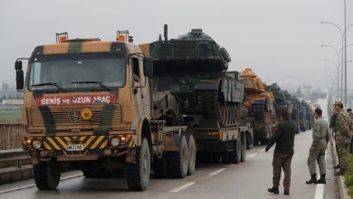 Turkey, Afrin, Syria, military convoy, Kurdish enclave, Defense Minister