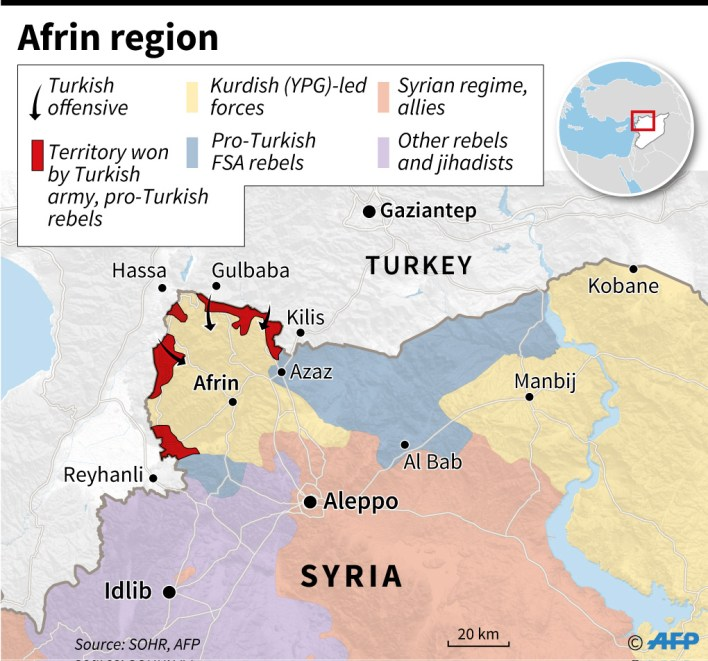 afrin territorial control infographics
