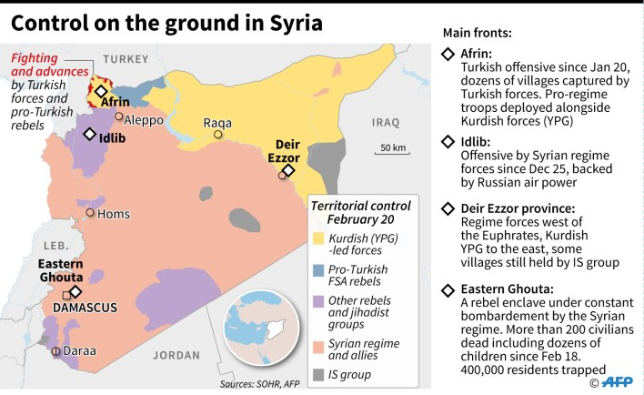 syria territorial control infographics
