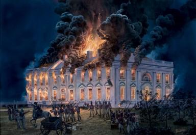 1814-burning