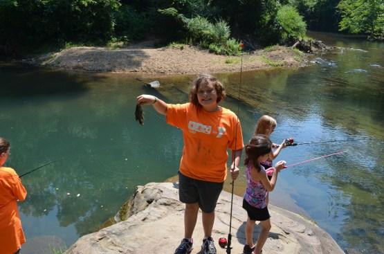 Educational Programing: Fishing Class