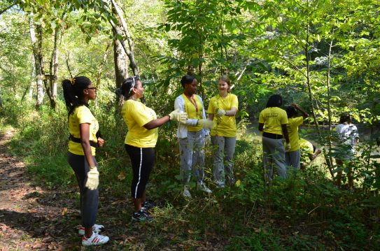Carefusion and Restoration volunteers