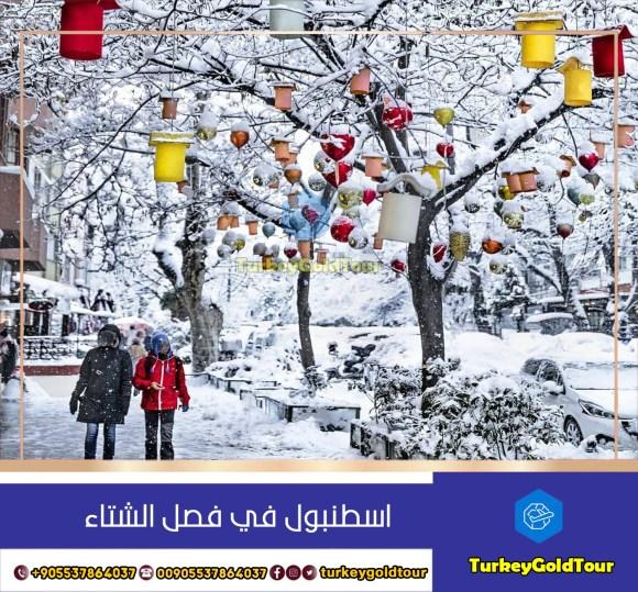 الاماكن السياحية في اسطنبول في فصل الشتاء