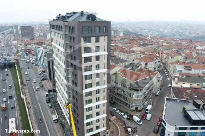 شقق للبيع في كاتهانة في اسطنبول مشروع مشروع امبرميوم IMPERIUM NO 1 RESIDENCE