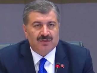 Turkin terveysministeri Fahrettin Koca