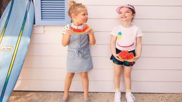 تصاميم ملابس اطفال للعيد