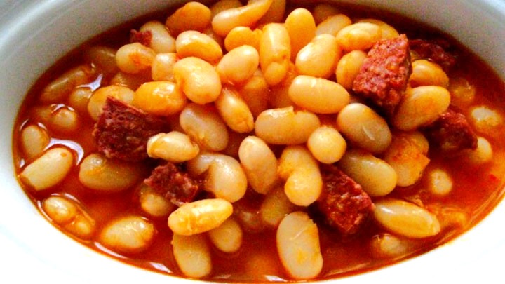 White Bean Stew with Meat - Etli Kuru Fasulye