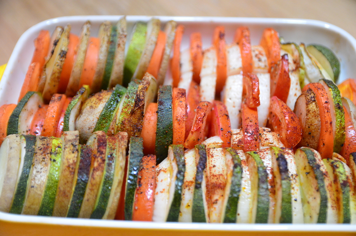 【土耳其料理食譜】春天到了~來烤時蔬吧!烤箱櫛瓜料理