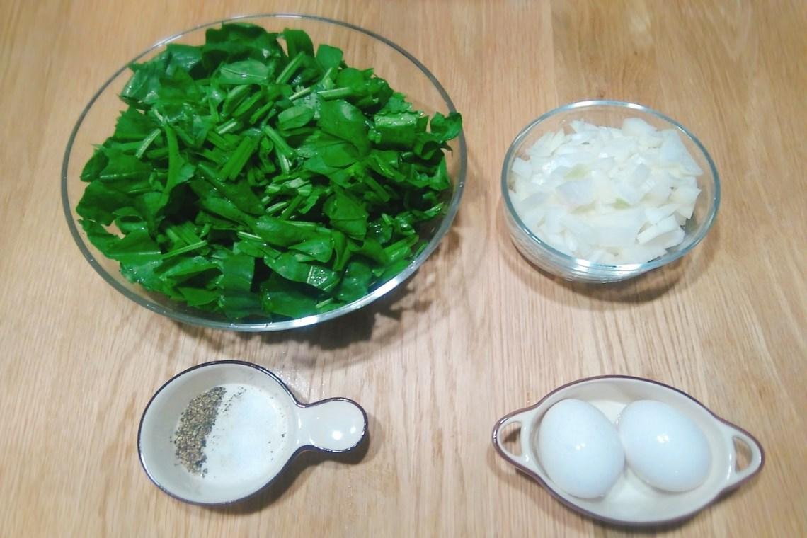 菠菜蛋材料1280x853