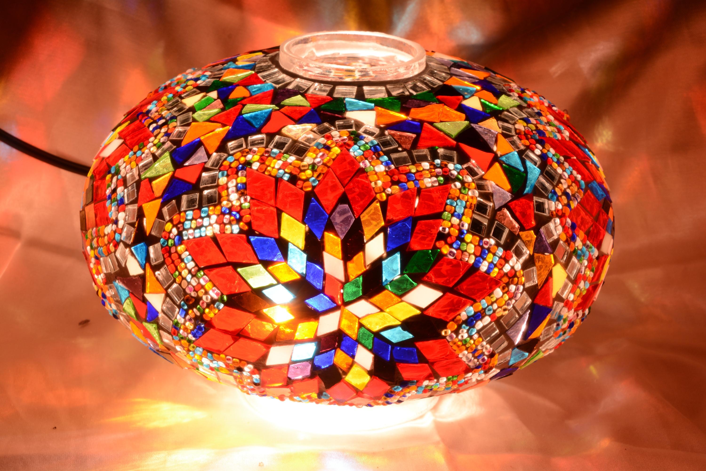 Size 5 mosaic lamp models
