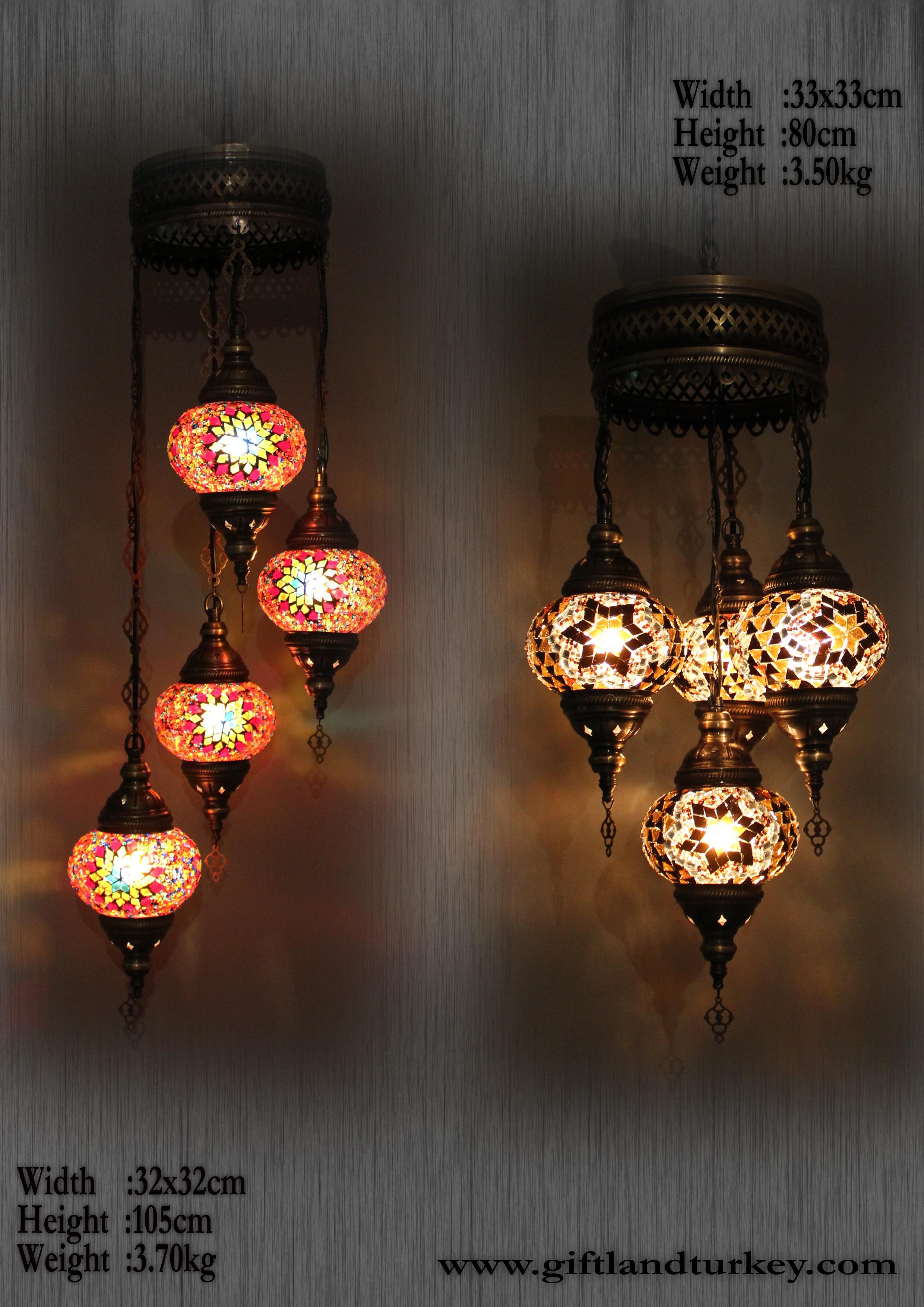 Turkish-mosaic-lamps-wholesale