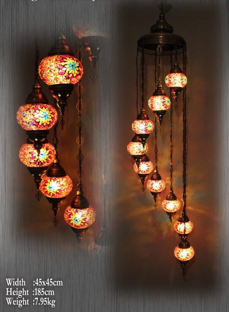 Mosaic and glass lamp wholesale