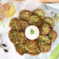 Mucver (Fried Zucchini Patties) Recipe