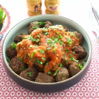 Kofte (Meatballs) with Tomato Sauce Recipe