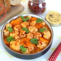 Cauliflower Stew in Tomato Sauce Recipe