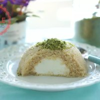 Semolina Halva With Icecream Recipe