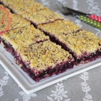 Black Mulberry Crumble Bar Recipe