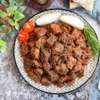 Turkish Roasted Meat (Kavurma) Recipe