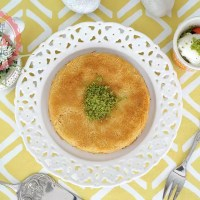Kunefe (Sweet Cheese Pastry) Recipe