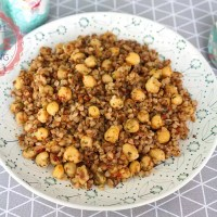 Buckwheat With Chickpeas Recipe