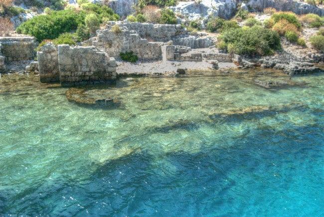Sunken Ruins Of Kekova Turkish Travel Blog