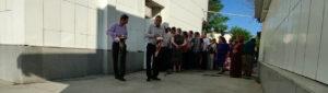 В Ашхабаде уменьшилось количество очередников перед госмагазинами