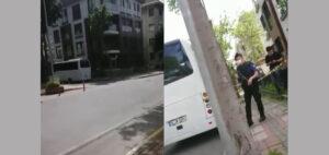 Консульство Туркменистана в Стамбуле охраняет вооруженная полиция