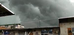 На Лебап вслед за ураганом обрушился ливень